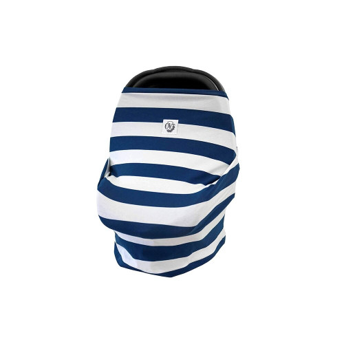 The Over Company Multi-Use Baby Cover Hudson Stripe