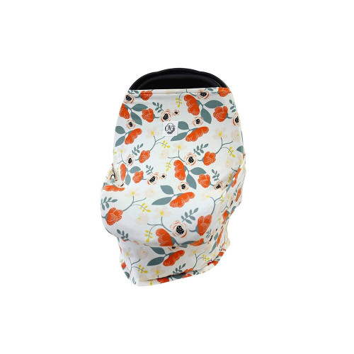 The Over Company Multi-Use Baby Cover Poppy