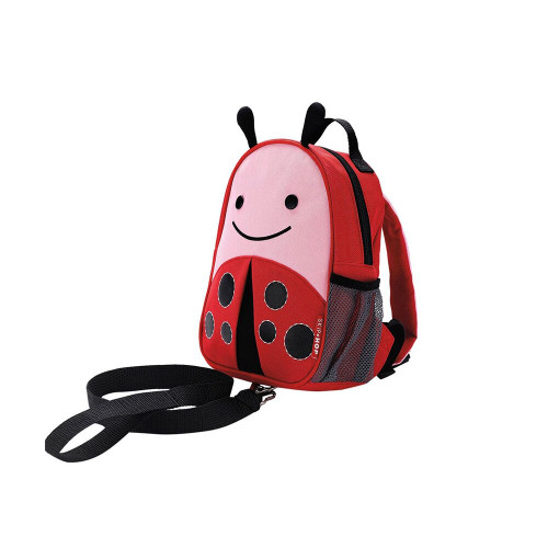 Zoo Harness is a mini backpack with a detachable tether for the smallest travelers.