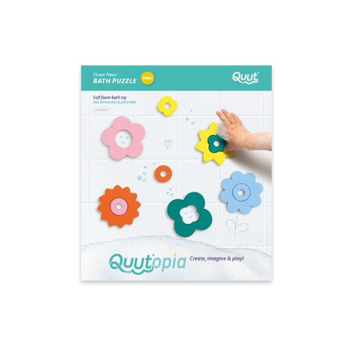 Quutopia - Flower Power Bath puzzle