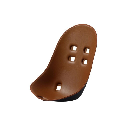 The comfortable and elegant seat pads, which are thermoformed, lightweight and resistant, protect the baby and can be easily cleaned.