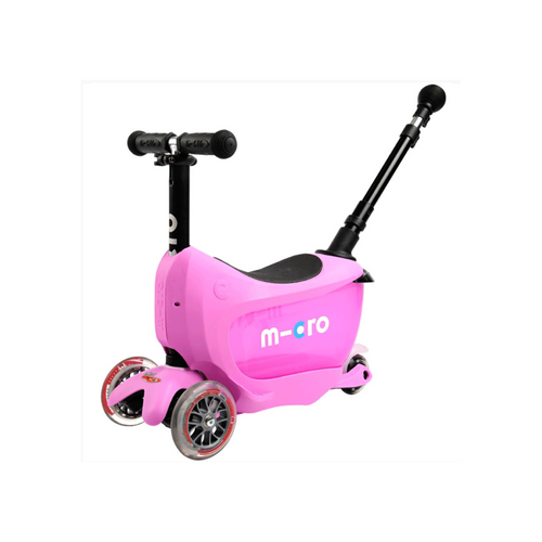 Beautifully designed and exquisitely engineered this clever multi-adaptable, ride-on scooter will see your child through from their first toddles, to their first year at school.