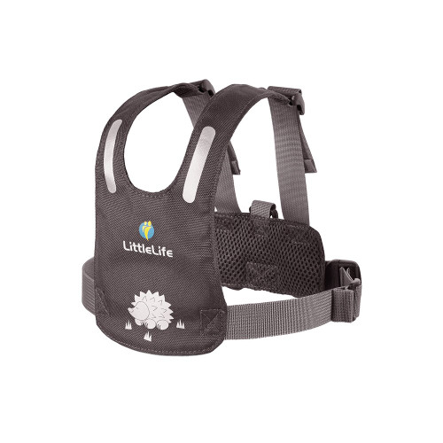 Little Life Safety Harness 1-3Y Hedgehog Gray