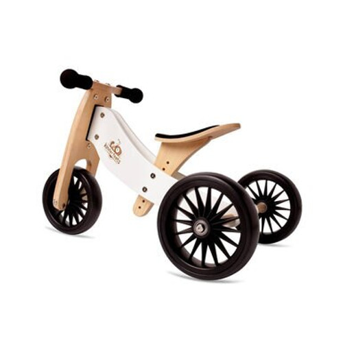 The Kinderfeets Tiny Tot PLUS 2-in-1 Bike is a larger version of the favored Tiny Tot 2-in-1 Bike - a vehicle that doubles as both a tricycle and a balance bike when children are ready.