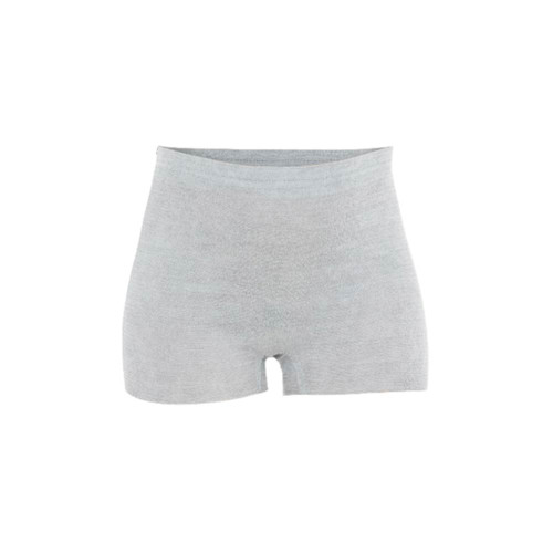 Mesh-free, mess-free recovery wear that stretches even more than you have. Soft, seamless and breathable to keep pads (and everything else) in place, without squeezing or pulling.