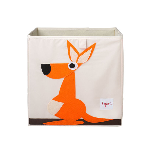 The 3 Sprouts Storage Box is the perfect organizational tool for any room. With sides reinforced with cardboard, our storage box stands at attention at all times.