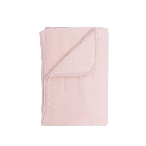 Our toddler blankets are cozy and soft to the touch. The gentle rayon from bamboo fabric has a silky smooth feeling that will keep your little ones cozy and warm and bring comfort and snugness during cuddle times.