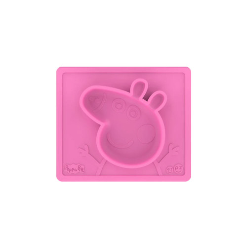 LIMITED EDITION The Peppa Pig Mat inspires positivity, sharing and adventurous eating at mealtime. Oink! Designed for toddlers.
