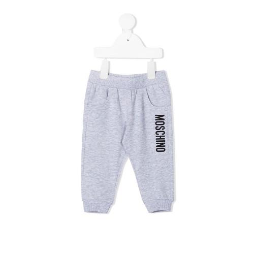 New Season Moschino Kids logo-print track pants.