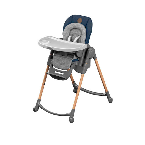 The Minla is full of possibilities. With its five recline positions, four tray positions and eight heights, you can use it as a relaxed infant seat thanks to the cozy inlay, as a high chair, as a cool booster seat with tray...