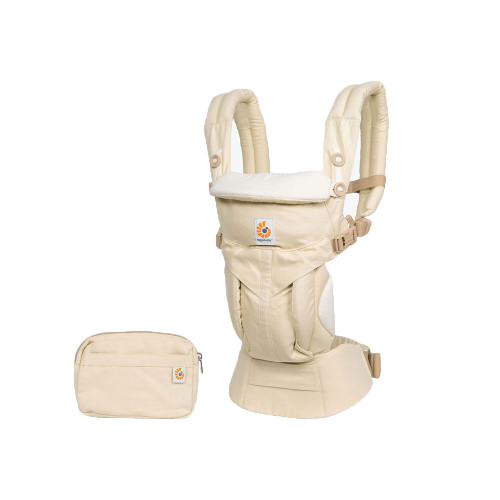 Our all-in-one, newborn ready Natural Omni 360 has all the carry positions.