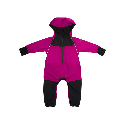 Perfect for jumping over puddles and discovering secret creeks, our colorful rain suits keep up with your little explorer even in stormy weather. Easy to throw over whatever they're already wearing, its loose fit lets your toddler move freely and enjoy in the rain.