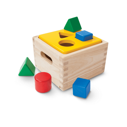 Because this playset involves shapes colors sorting and counting it can be paired with a variety of other educational activities at home and in the classroom! Encourage little ones to develop their ability to count differentiate between various shapes and colors and utilize their fine motor skills to properly sort the wooden pieces.