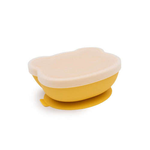 Our We Might Be Tiny Stickie™ Bowls are ergonomically designed to give you and your little one the confidence to rock mealtime like superstars. The inbuilt suction base holds the bowl firmly in place on almost any solid surface so that your mini me doesn't send the sticky mess flying across the dining table. And you don't have to watch the whole meal like a hawk because you're over cleaning the whole kitchen yet again.