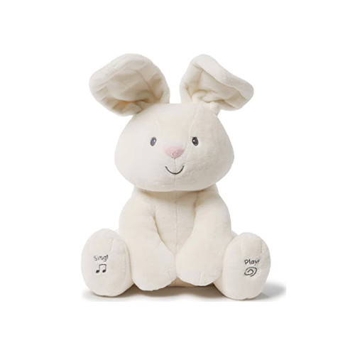 Flora the Bunny is an adorable singing animated plush with two different play modes.