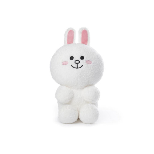 This 7` seated plush Cony is super soft and perfect for display or play! Plush material is surface washable and suitable for ages one and up.