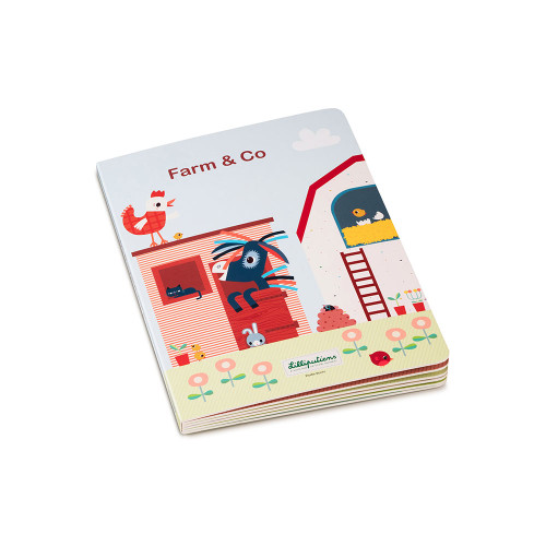 Discover which friends live in the houses and feel how different they are. Put the puzzle together page after page, going from small to big... or vice-versa! The puzzle is recto verso: double the fun!