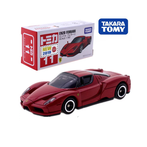Takara Tomy Tomica No.11 ENZO Model Kit DIECAST Miniature CAR Toy Hot Pop Kids Doll Funny Magic Bauble