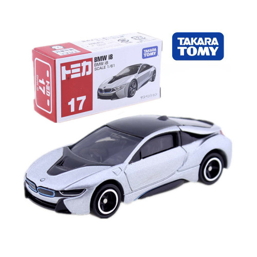 Takara Tomy Tomica No.17 BMW I8 CAR Model Kit 1:61 Scale Electric Vehicle Mould E-POWER Diecast Baby Toys Funny Magic BaubleTakara Tomy Tomica No.17 BMW I8 CAR Model Kit 1:61 Scale Electric Vehicle Mould E-POWER Diecast Baby Toys Funny Magic Bauble