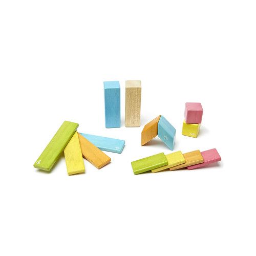 The 14-Piece Set is the perfect introduction to Tegu and the perfect gift for special occasions.