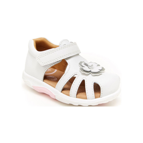 Our adorable SRtech Eleni Sandal keeps her feet comfy and aware of the ground, with a super-soft memory foam interior and our balancing sensory pods underneath.