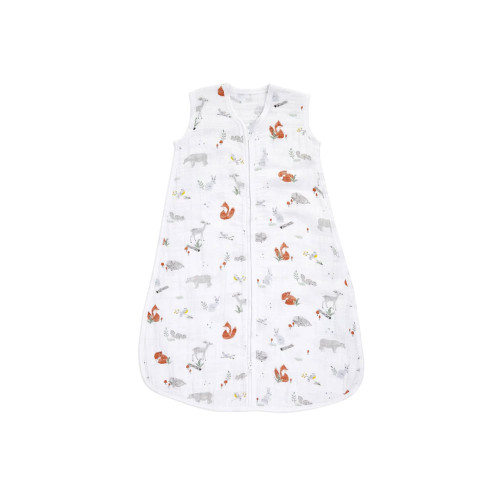 There's no need to stress over loose blankets in the crib with this breathable classic sleeping bag.