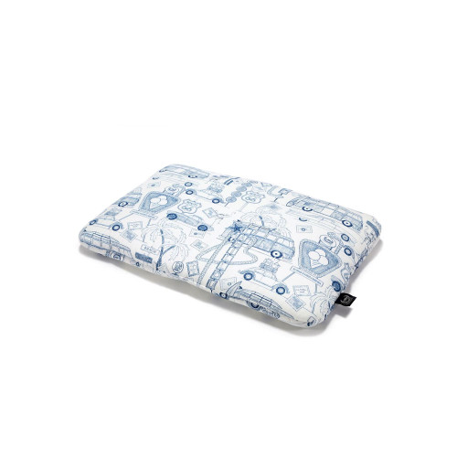 A classic, flat sleeping pillow in your favorite designs.