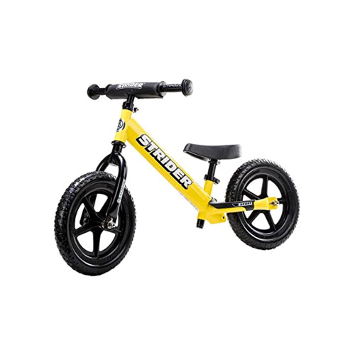 Strider 12 Sport Balance Bike has become the ultimate vehicle for kids as young as 18 months.