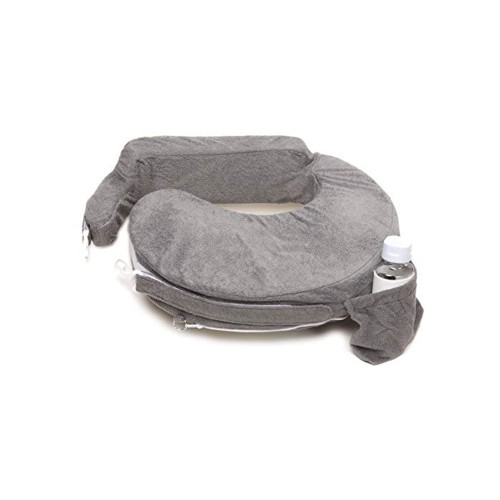 Maintain proper positioning during feedings with the My Brest Friend Deluxe Nursing Pillow.