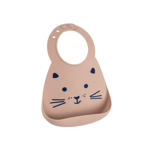 This soft Make My Day baby bib can be used over and over again and still look great.