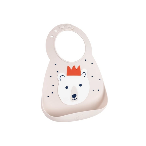 This soft Make My Day baby bib can be used over and over again and still look great