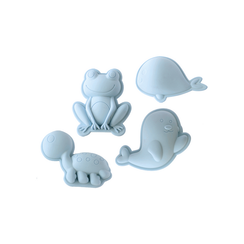 The Scrunch Sand Moulds fit just about anywhere & is light, pliable and very robust.