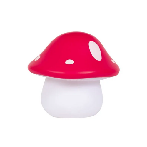 The soft glow of this mushroom nightlight helps your little one feel safe in the dark;