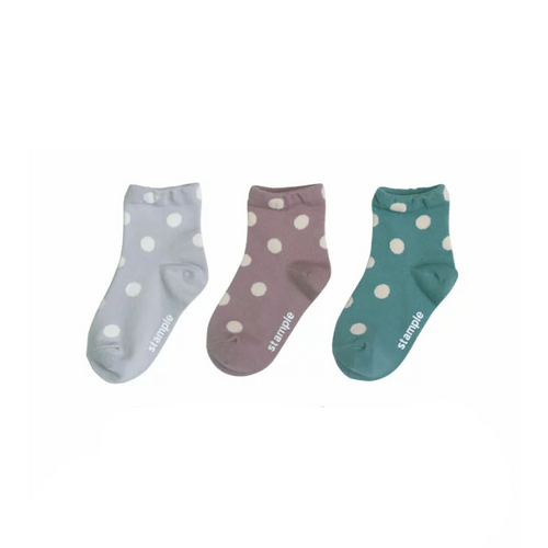 Fashionable dot pattern is one point at your feet ♪
