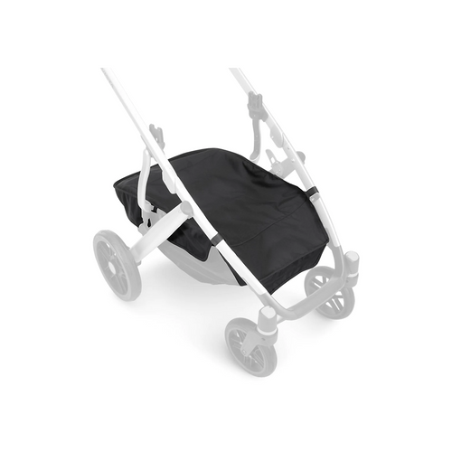 Keep your basket covered and protected while strolling! This Basket Cover has dual flip openings for convenient access to your essentials and keeps items concealed when not in use.