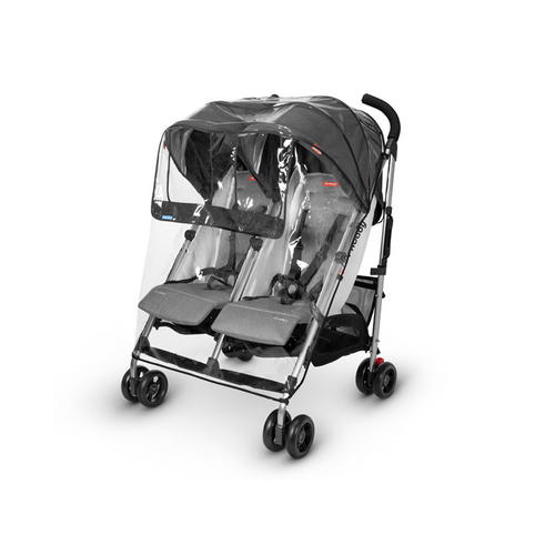 Double the coverage! Protect your little ones from the wind and rain with theUPPAbaby G-LINK 2custom fit Rain Shield.