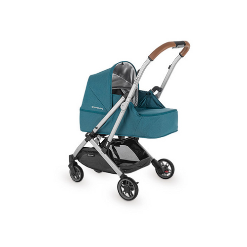 UPPAbaby's MINU Stroller has add-on features specifically designed with your baby's safety and comfort in mind.