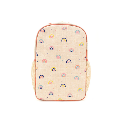 Cheerful and bright our Neo Rainbow print is the perfect reminder that even our stormiest days have a silver lining.