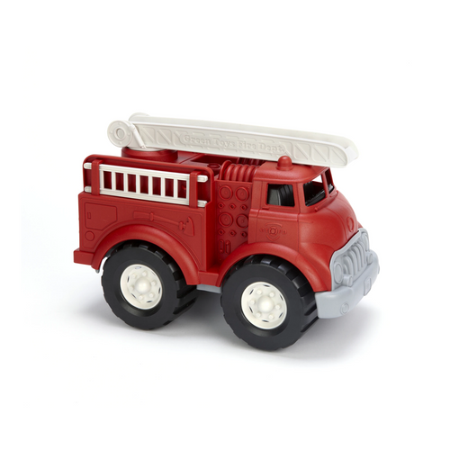 This is just a typical day in the life of the Green Toys™ Fire Truck, the world's greenest emergency vehicle.