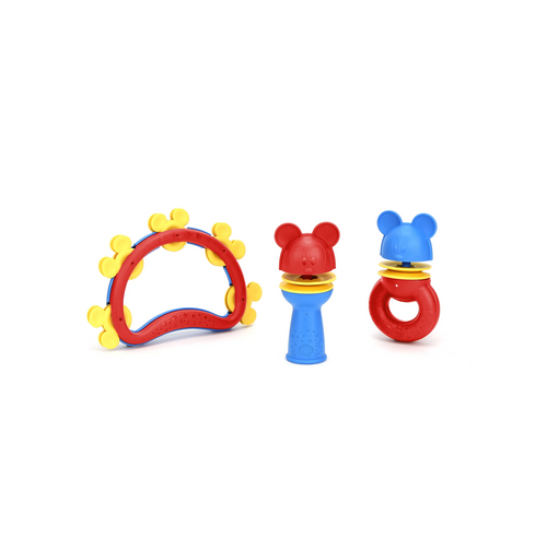 With this set, babies and toddlers can practice important developmental areas, including but not limited to motor skills, coordination, color identification, and cause & effect reasoning.