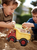Need help hauling a big load while helping save the planet? The Green Toys® Dump Truck is ready to get working.