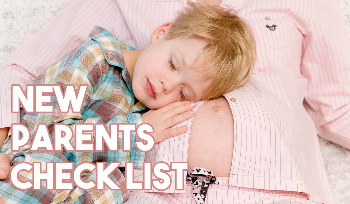 New parents checklist