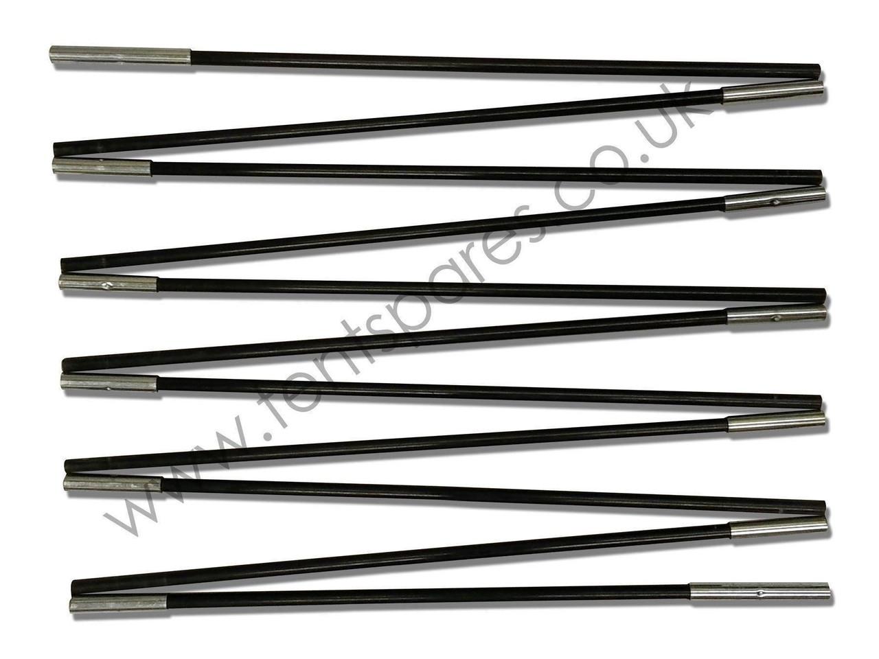 5c3ab156425 Vango Mambo 300 Black Fibreglass Main Pole 2017 - Tentspares Ltd