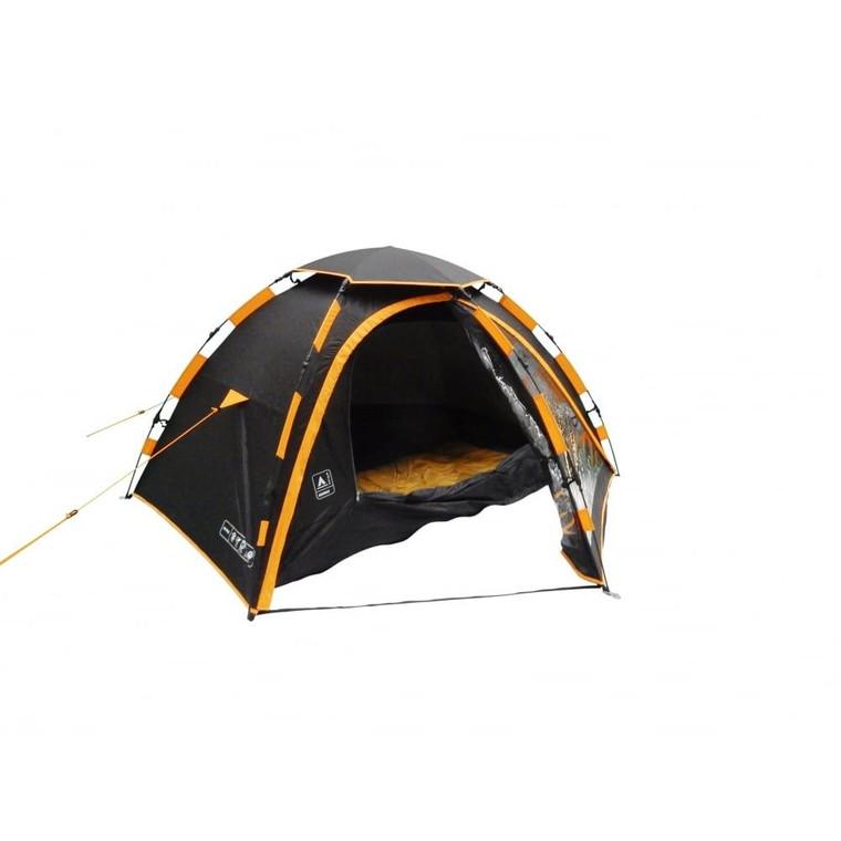 Khyam Nimbus 2 Berth Inner Tent - Black/Citrus Yellow