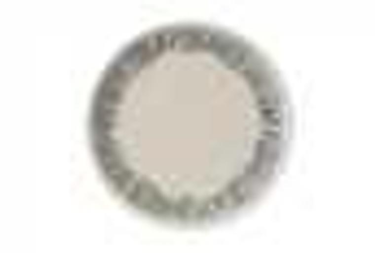 Vango Bamboo 20cm Dessert Plate 12 Pack - White/Grey Stripe