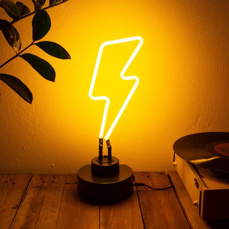 HARRY - Neon con forma de rayo