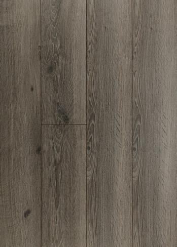 Husky Oak grey laminate wood flooring