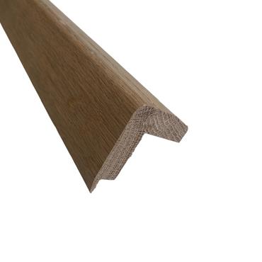 Solid oak stair nosing untreated