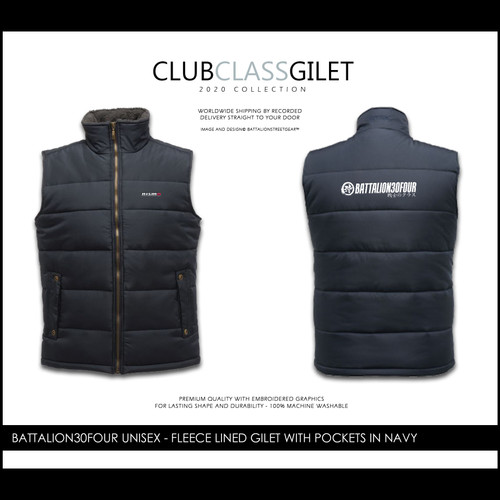 Battalionstreetgear©™Battalion30four embroidered Gilet