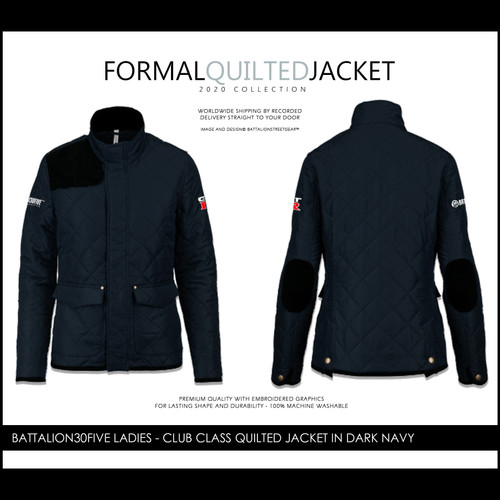 Battalionstreetgear©™ Battalion30five embroidered quilted jacket